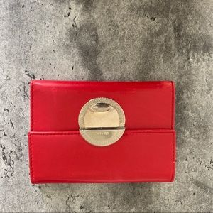 Authentic Red Leather Wallet